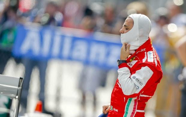 Felipe Massa, da Ferrari, no treino classificatório para o GP da China (Foto: EFE)
