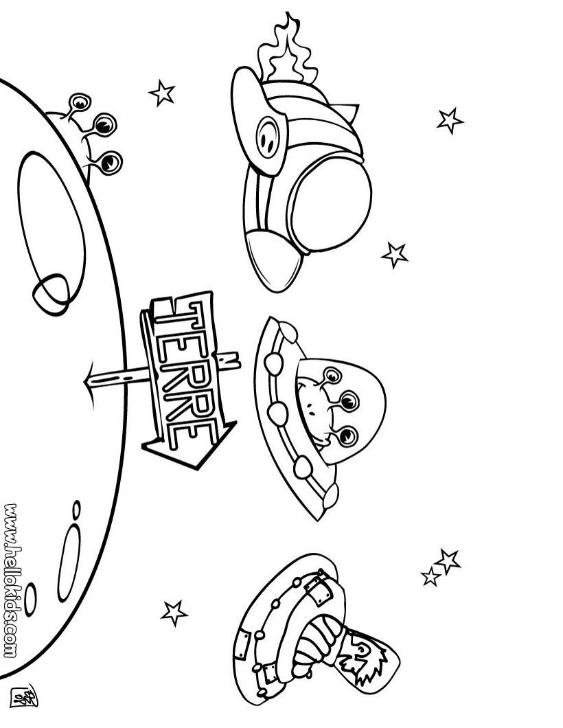 ausmalbilder planeten