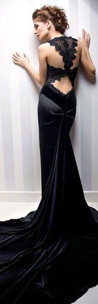 Dresses  black lace