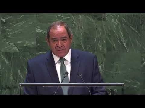 Argelia lamenta la falta de dinamismo esperada por el Secretario General de la ONU sobre el tema del Sáhara Occidental.
