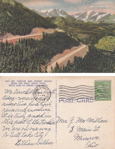 Mt Ypsilon and Mummy Range
