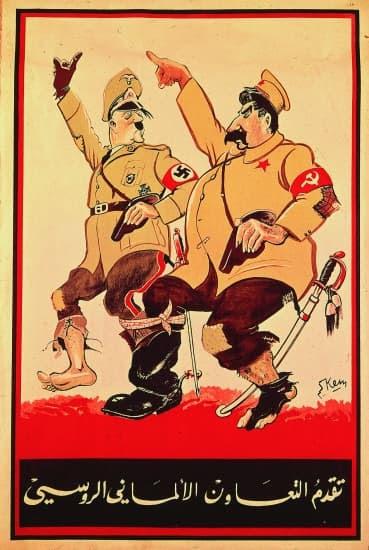 Les progrès de la coopération germano-soviétique