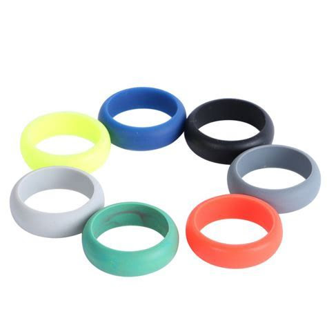 Flexible Hypoallergenic Unisex Silicone Rubber Wedding