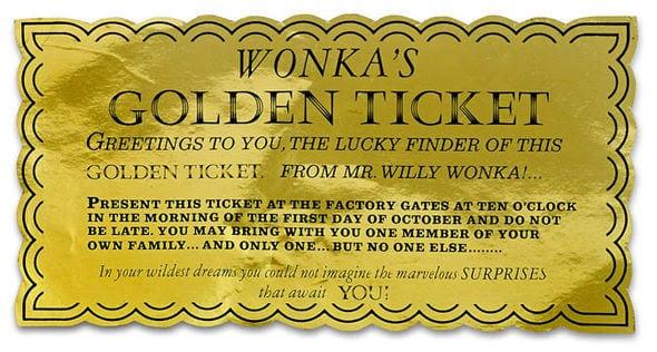 6+ Golden Ticket Templates - Word Excel Templates