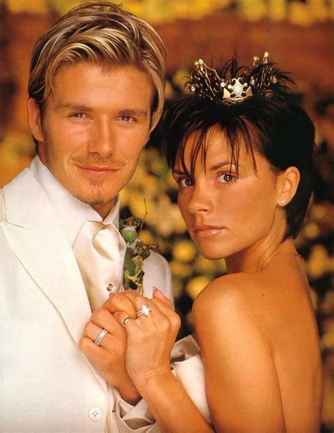 The Beckhams Are Selling Their Wedding Crown