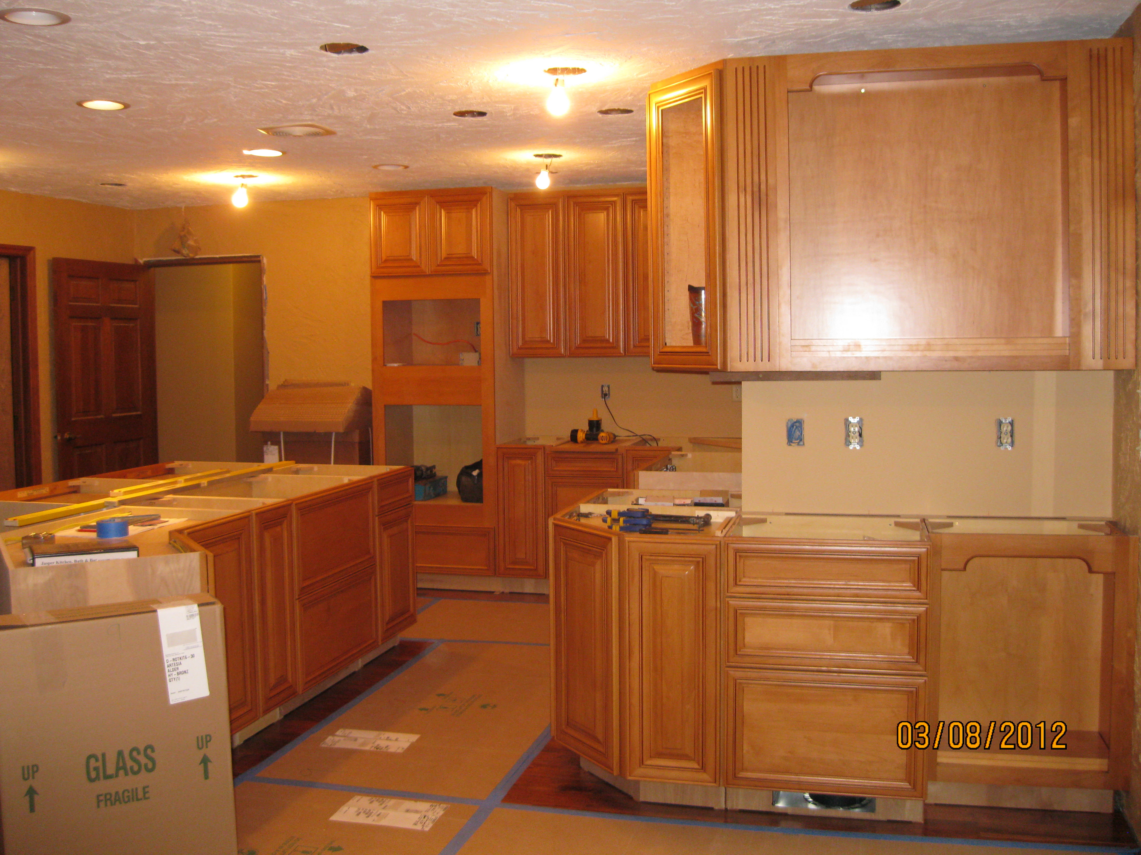 Springboro Kitchen - Cabinets - Remodeling Designs, Inc.