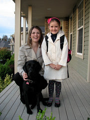 Avery's first day at school