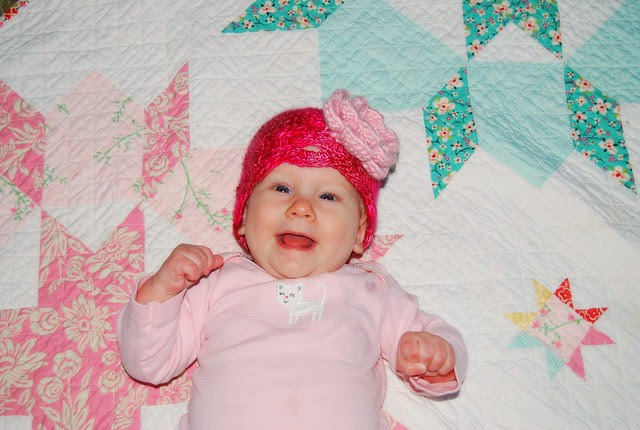 Scarlet's new hat
