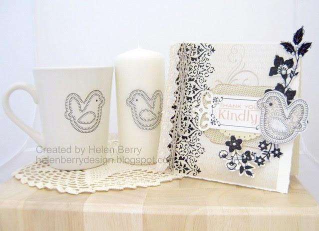 Bird Card, Candle & Mug WMSC56