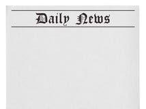 Newspaper Blank Template Stock Photos - Image: 17133913