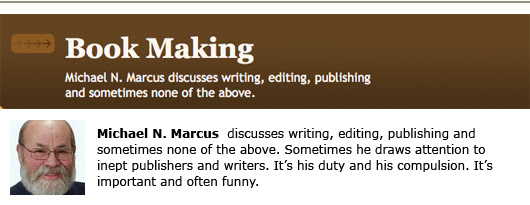 michael n. marcus self-publishing blogging