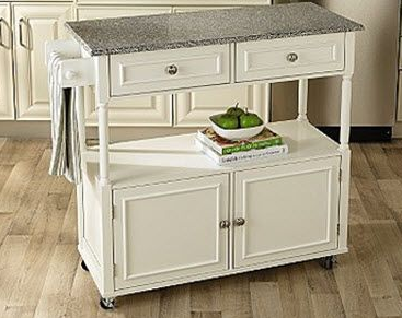 Sandra Lee Kitchen Cart with Granite Top $129.59 (down ...