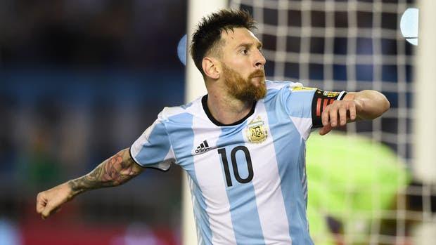 Argentina-Chile-Messi
