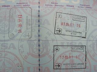 Passportstamping