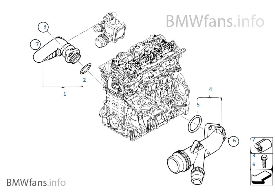 Bmw Engine Cooling System Diagram