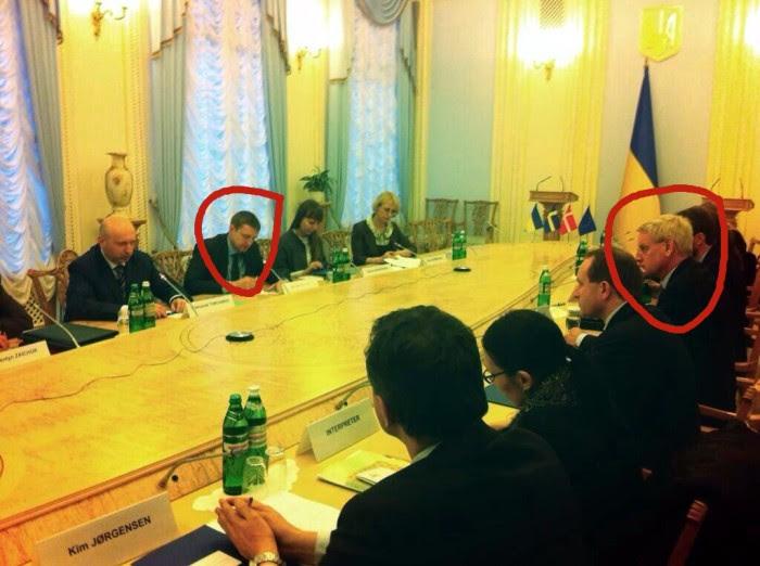 Bildt in Ukraine -marked