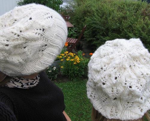 Lace Leaf hats