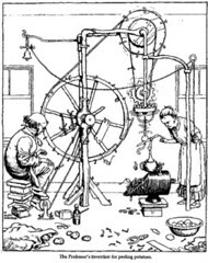 The Proffessor's invention for peeling potatoes