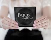 Paris Oh-La-La - Accordion Photography Book - BaronAndCrowPress