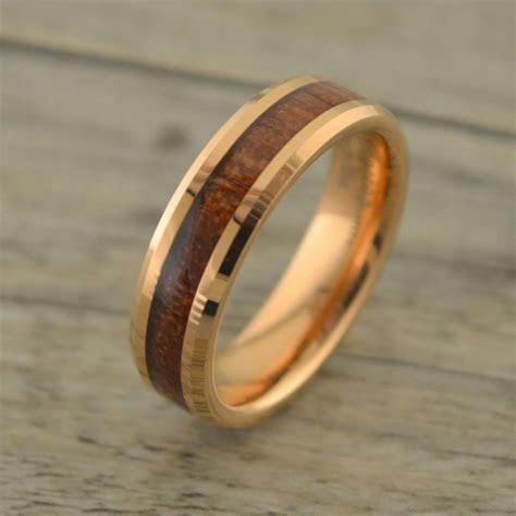 Awesome mens wedding bands wood inlay   Matvuk.Com