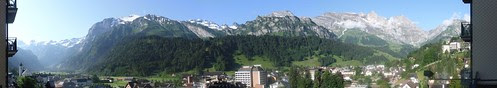 Engelberg panorama by rajmarshall
