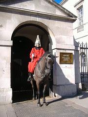 Whitehall y la guardia a caballo