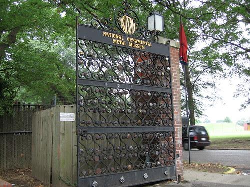 National Ornament Metal Museum Gate