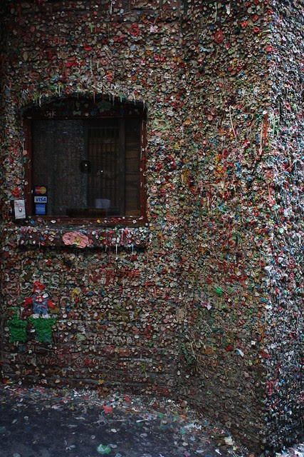 State of the Gum Wall December 2012
