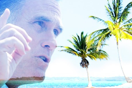 Romney banks in the Cayman Islands