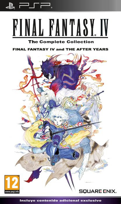 Carátula de Final Fantasy IV: Complete Collection