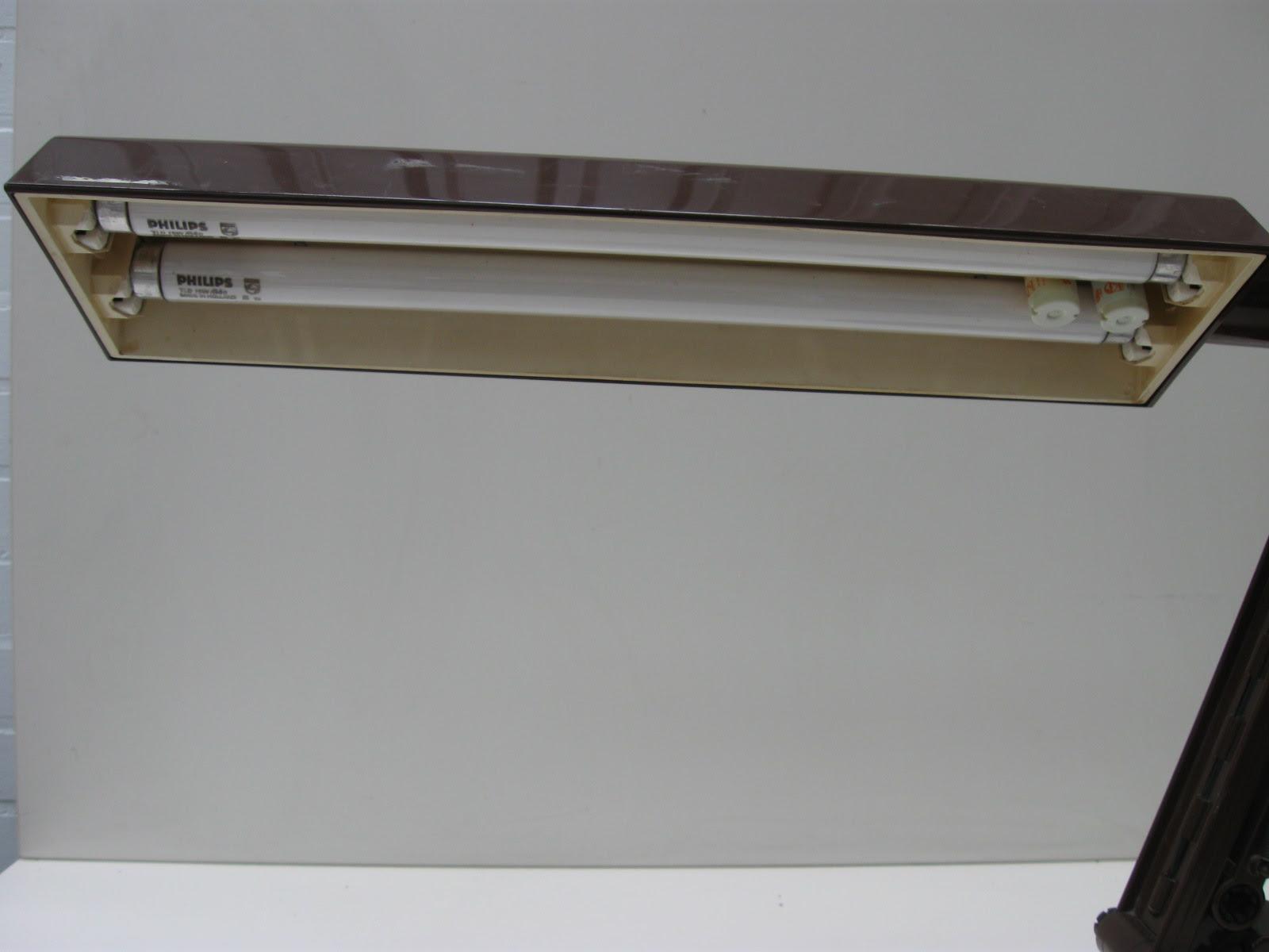 Fagerhults Vintage Plastic Bureau Lamp Ae Design Zweden Jaren 70