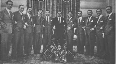 Anibal Troilo y su orquesta en 1941