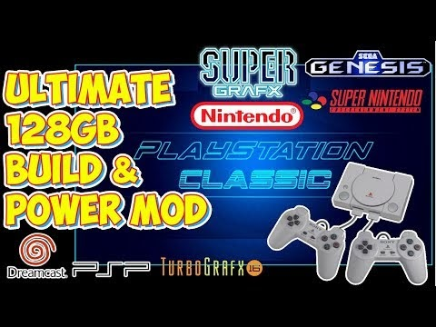 The BEST 128GB PlayStation Classic AutoBleem Build! PSX