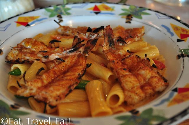 Sesame Grill: Shrimp Rigatoni