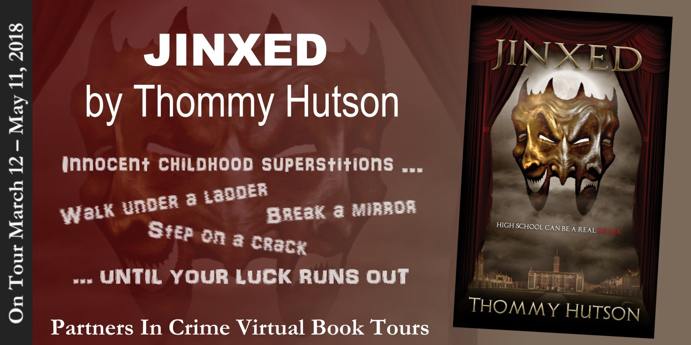 Jinxed by Thommy Hutson Tour Banner
