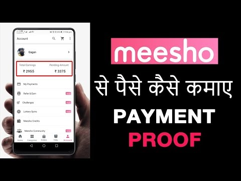 How to Earn From Meesho App || Earn Money With Meesho App