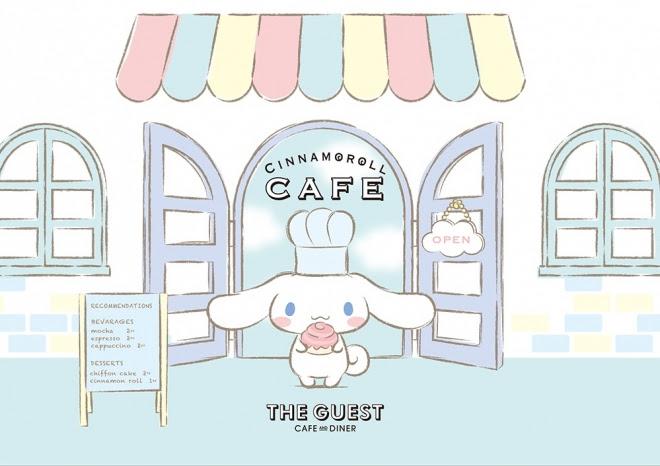 Resultado de imagem para Cinnamoroll cafe