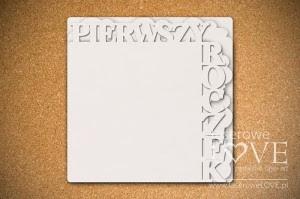 Baza albumu Pierwszy Roczek 25x25 - Emma & Billy