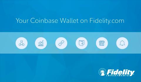 Intégration Coinbase par Fidelity