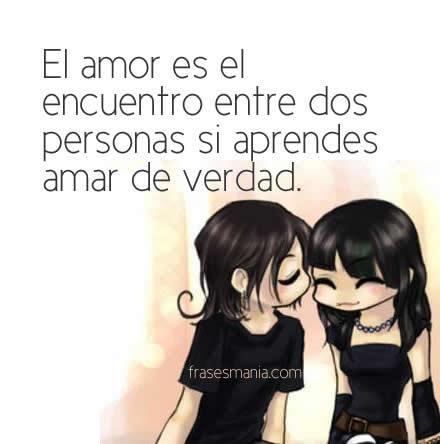 El Amor Es El Encuentro Entre Dos Personas Frases