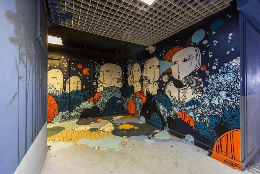 Σχολείο ζήτησε από 100 street artists να το βάψουν πριν ανακαινιστεί και το αποτέλεσμα είναι απίστευτο (24)