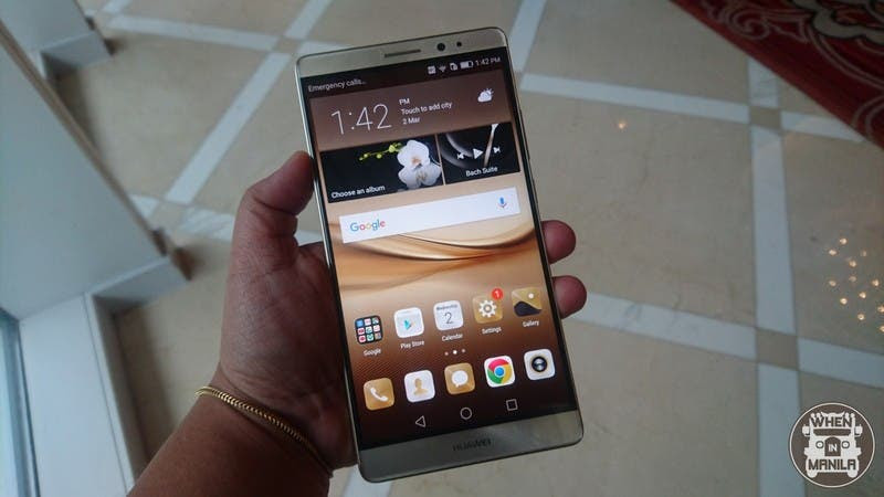Huawei Mate 8 Is The New Style Of Business For Smartphones In Ph