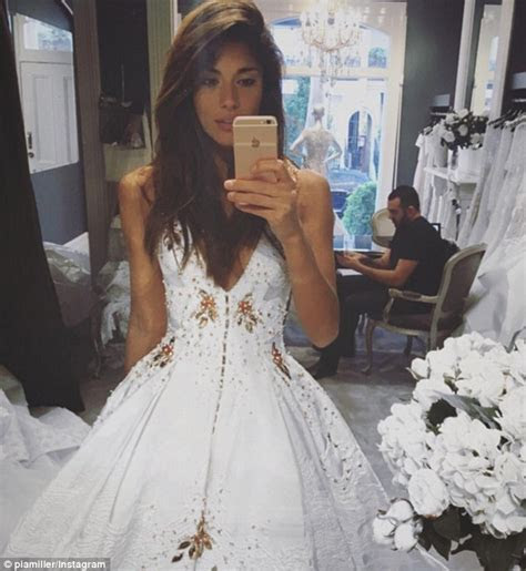 Home And Away's Pia Miller tries on a wedding dress ahead