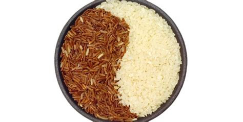 difference  brown rice  white rice