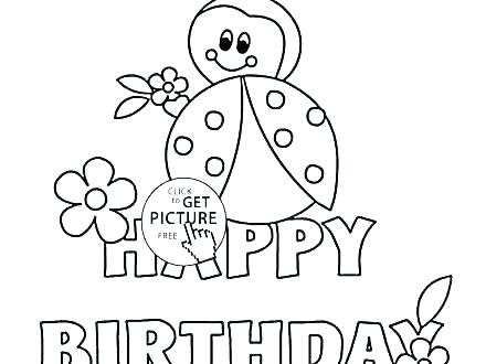 Happy Birthday Brother Coloring Pages at GetColorings.com ...