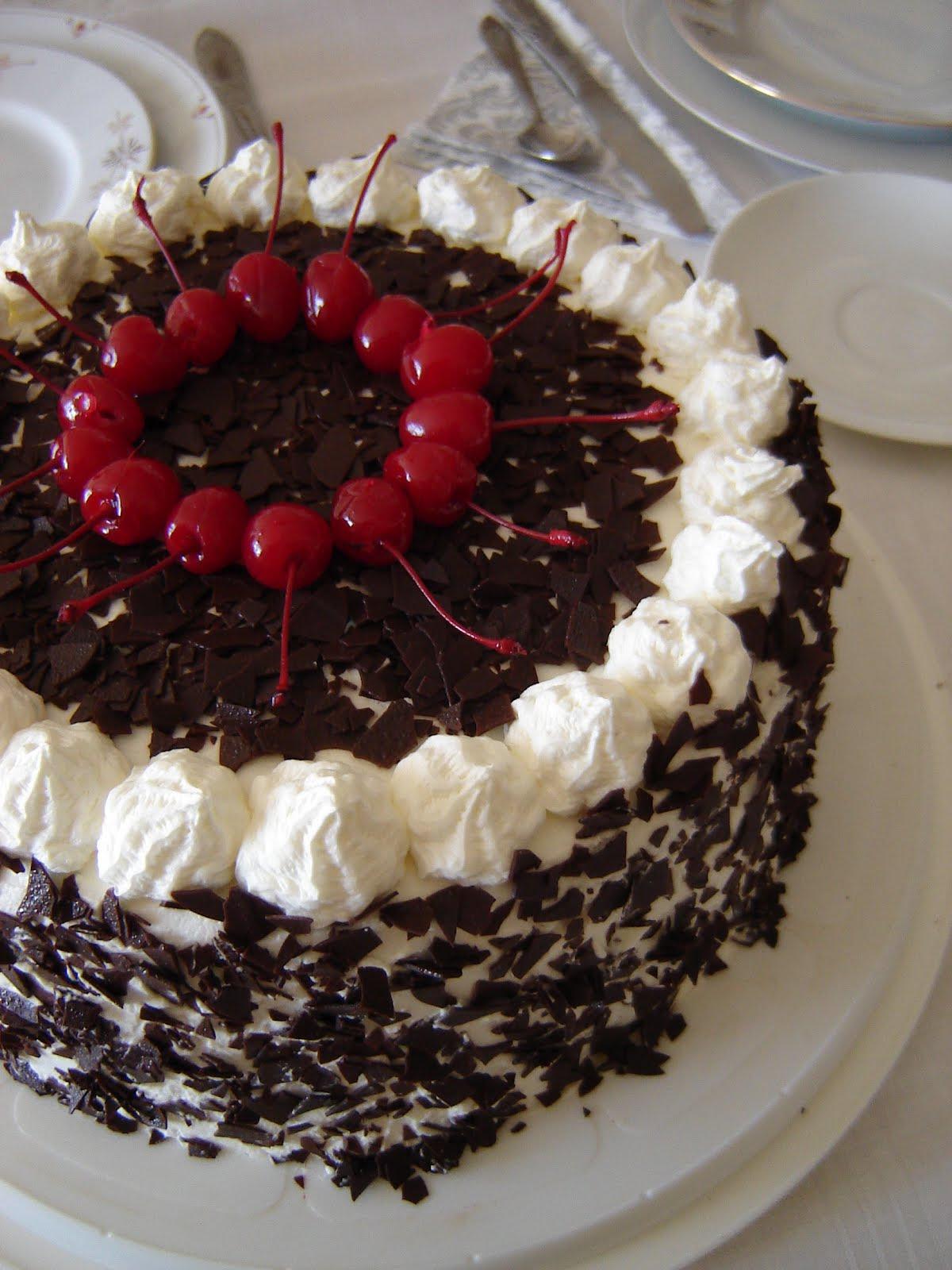 Germany - Schwarzwälder Kirschtorte / Black Forest Cake