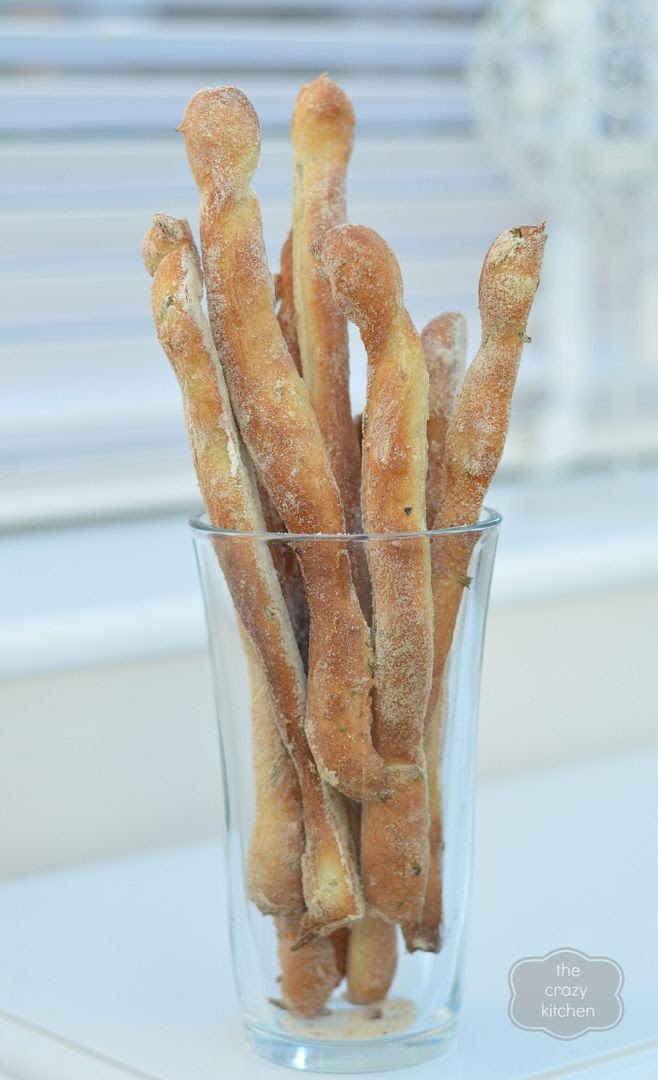 Garlic & Rosemary Breadsticks