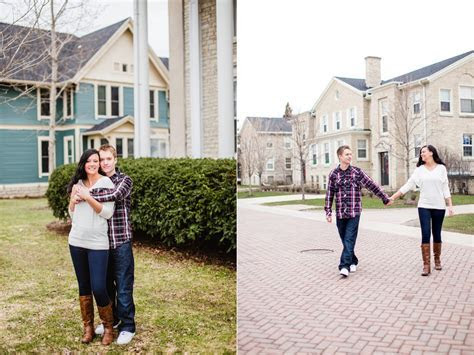 Nick & Megan   Lawrence University Engagement Session