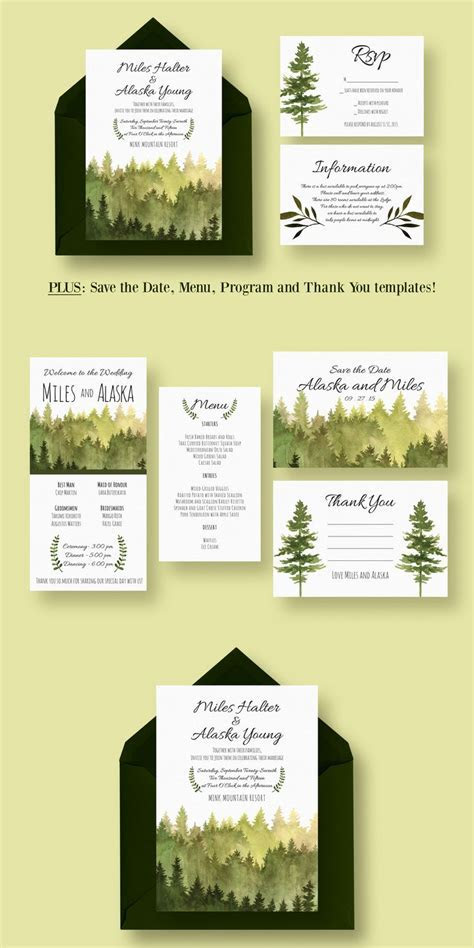 1000  ideas about Invitation Templates on Pinterest