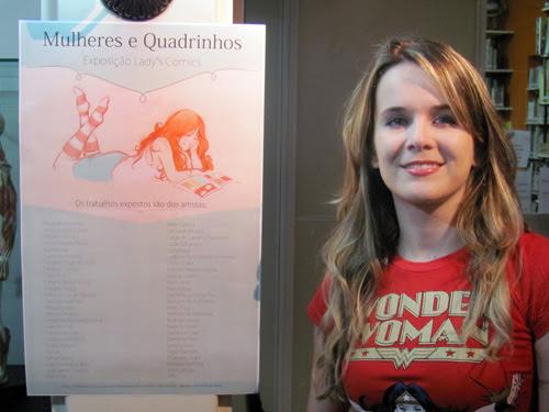 Ila Fox, Ladys Comics, exposição mulheres e quadrinhos, foto